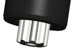 Radial versetzter Bohr- und Fräskopf VDI30 DIN 5482, ER25 (430E)