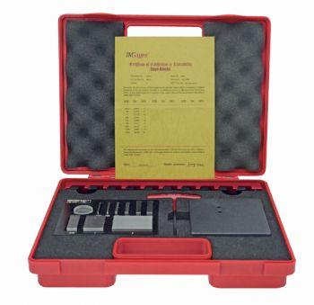 Prüfsatz für Mikrometer mit Halter