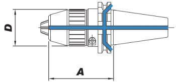 Kurzbohrfutter DIN 69871 - AD/B