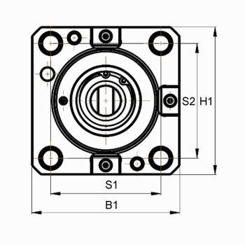 Axial Bohr- und Fräskopf BMT65