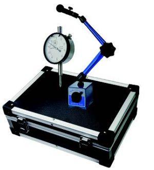 Messuhr und Magnet-Messstativ-Set, Höhe 345 mm