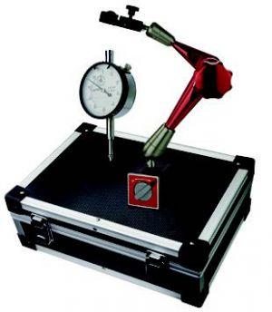 Messuhr und Magnet-Messstativ-Set, Höhe 275 mm