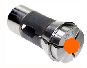 Spannzange Typ 1536E, F37, DIN 6343 - 6-KANT