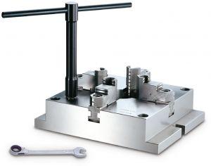Stationäres 4-Backen Spannfutter Typ MC-06, 165x165 mm