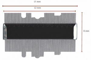 Profillehre 150 mm