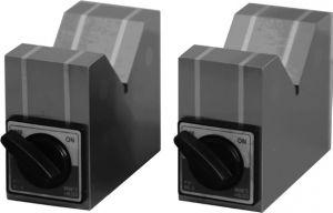 Prismenblöcke magnetisch, mit Schalter, für Ø 6-38