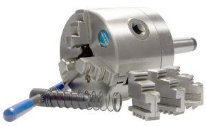 3-Backen-Drehfutter Ø 80 mm, MK2 - fest, BASIC
