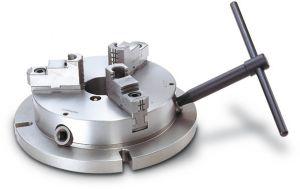 Stationary 3-jaw vise Type NBK-06, Ø 170 mm