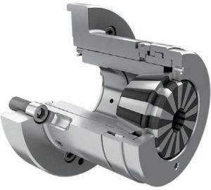 Kraftspannzangenfutter KSFB Ø 155 mm, zylindrisch (173E)