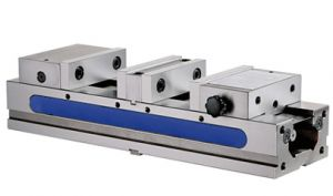 Self centring doubled precision-vice TLD-100