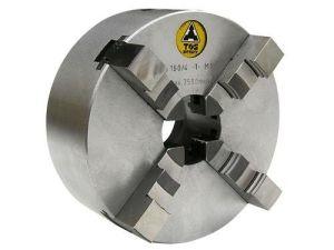 TOS four-jaw lathe chuck IUS, Ø=80 mm