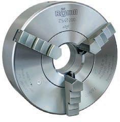 3-Backen-Drehfutter Typ ZS, DIN 6350 Ø=160 mm - STAHL