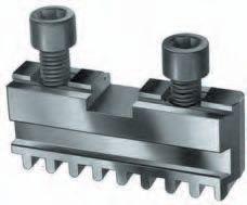 Set of 3 pc. base jaws for RÖHM, Ø=140 mm