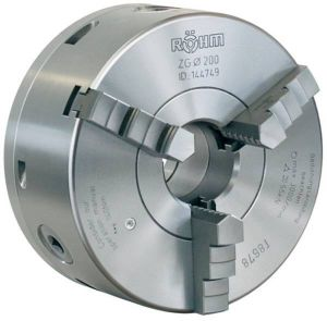 3-Backen-Drehfutter Typ ZS Hi-Tru, DIN 6350 Ø=100 mm