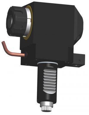 Radial Bohr- und Fräskopf VDI40 DIN 5480, ER25 (430E) - KURZ