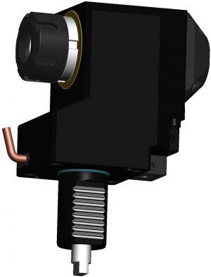 Radial versetzter Bohr- und Fräskopf VDI30 DIN 1809, ER25 (430E)