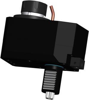 Axial Bohr- und Fräskopf VDI30 DIN 5482, ER25 (430E), versetzt