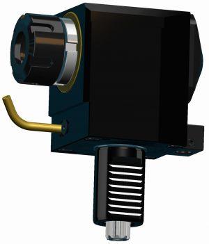 Radial drilling - milling head VDI40 DIN 5482, ER32 (470E), left