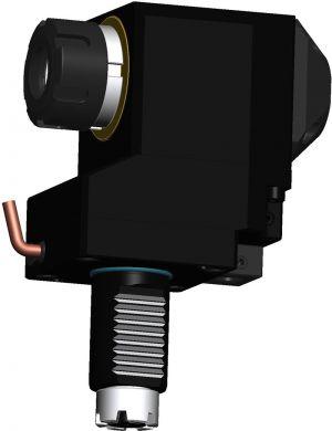 Radial versetzter Bohr- und Fräskopf VDI30 TOEM, ER25 (430E)
