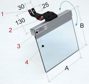 Schleifmaschinen - Schutzeinrichtung PMA 02-112