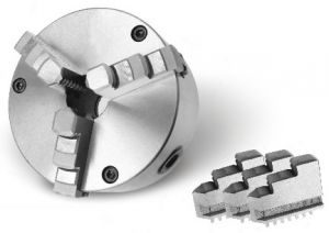 Three-jaw lathe chucks, Ø=200 mm - CAST IRON
