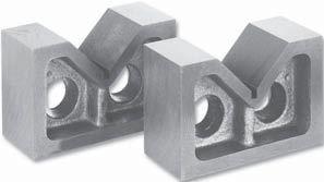 Set of 2 pc. V-blocks, L=50 mm