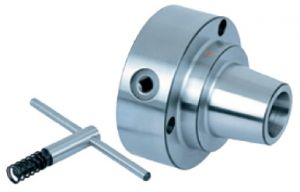 5C-Spannzangenfutter m. Feineinstellung, Ø=125 mm