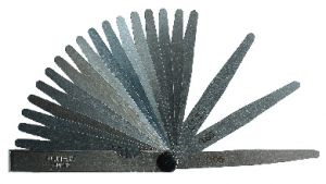 Präz.-Fühlerlehren F810, 0.03-0.15 mm, 9 St.