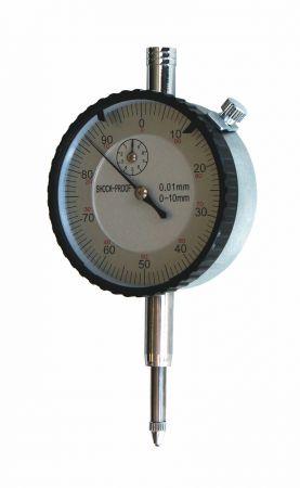Messuhr, Messbereich 10 mm, Ablesung 0,01 mm