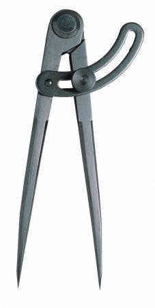 Bogenzirkel mit Nietscharnier, Länge 150 mm