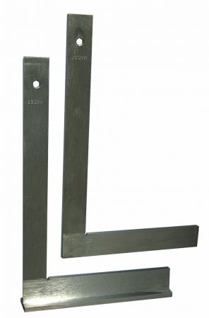 Steel square, zinc plated, 200 x 130 mm