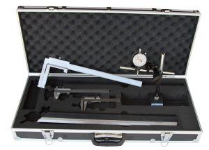 """Messzeug-Satz """"ANALOG"""", 6-teilig, für Autowerkstatt, mit Bremstrommel-Messchieber 40 - 340 mm"""