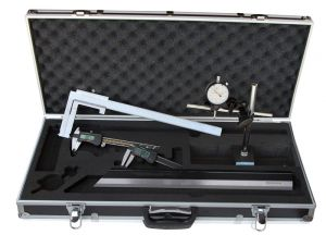 """Messzeug-Satz """"DIGITAL"""", 6-teilig, für Autowerkstatt, mit Bremstrommel-Messchieber 40 - 340 mm"""