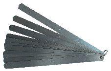 INOX Präzisions-Fühlerlehren, 20 Blatt, Länge 100 mm