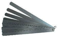 INOX Präzisions-Fühlerlehren, 20 Blatt, Länge 200 mm