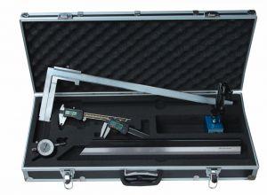 """Messzeug-Satz """"DIGITAL"""", 6-teilig, für Autowerkstatt, mit Bremstrommel-Messchieber 50-550 mm"""