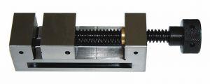 Schleif- und Kontrollschraubstock, Backenbreite 125 mm