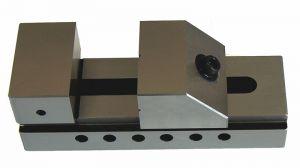 Schleif- und Kontrollschraubstock, Backenbreite 75 mm