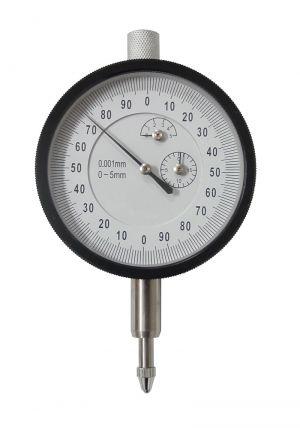 Messuhr mit Ablesung 0,001 mm, Messbereich 5 mm