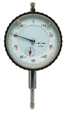 Präzisions-Messuhr, DIN 878, Messbereich 10 mm, Schaft und Messbolzen rostfrei