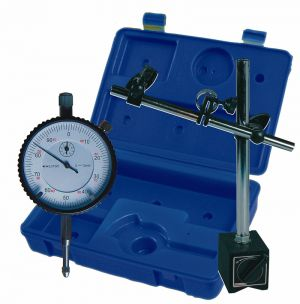 Dial-indicator with magnetic support-set, Type 701