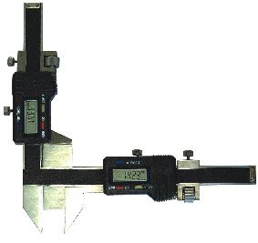 Digital-Zahnweiten-Messschieber, Messbereich M 2-30 mm