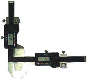 Digital-Zahnweiten-Messschieber, Messbereich M 5-50 mm