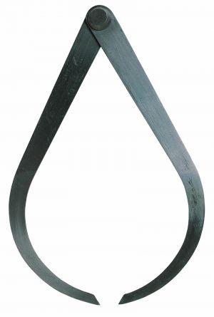 Außentaster mit Nietscharnier, Länge 150 mm