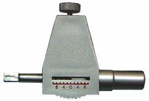 Messkraft-Adapter für Digital-Messschieber bis 300 mm Messbereich mit Rolle