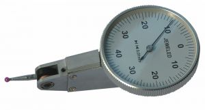 Universal test indicator Ø 38 mm, with ruby probe