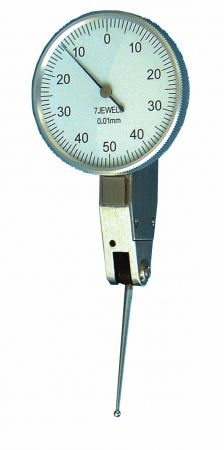 Universal test indicator with long probe, length 22,5 mm