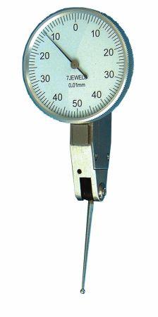 Fühlhebel-Feinmessgerät, mit langem Taster, Länge 22,5 mm