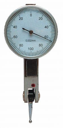 Fühlhebel-Feinmessgerät Ø 30 mm, rechtwinklig, Messspanne 0,2 mm