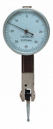 Fühlhebel-Feinmessgerät Ø 40 mm, rechtwinklig, Messspanne 0,8 mm
